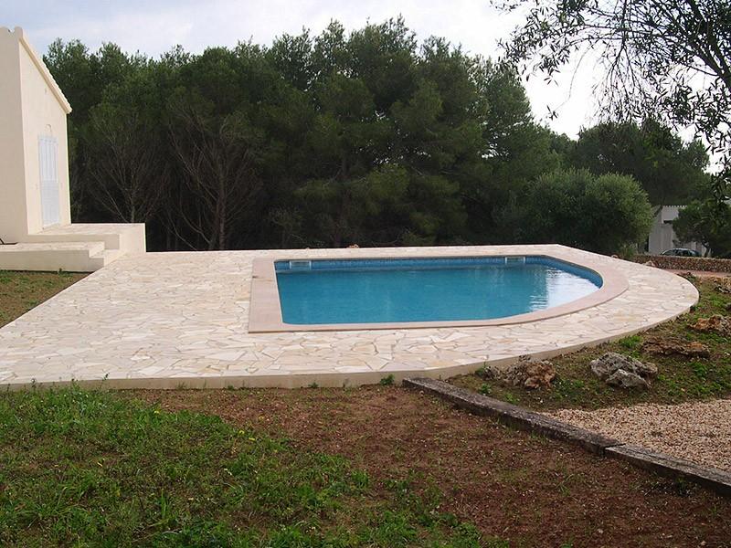 Construcci n de piscinas en menorca s nchez coll for Constructores de piscinas